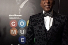 Colin McFarlane on the red carpet from premiere of The Commuter