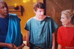 Colin in ITV's hit comedy 'Plebs'