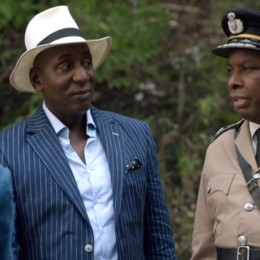 Colin McFarlane as Anton Burrage in Death in Paradise